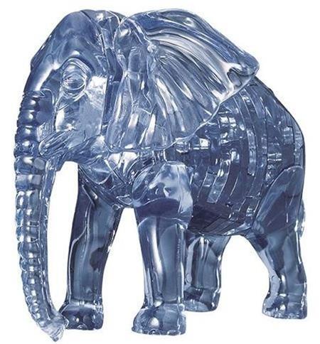 HCM KINZEL 3D Crystal puzzle Slon 40 dílků; 8031