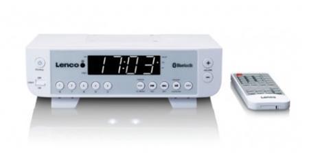 Lenco KCR-100 white; lkcr100w