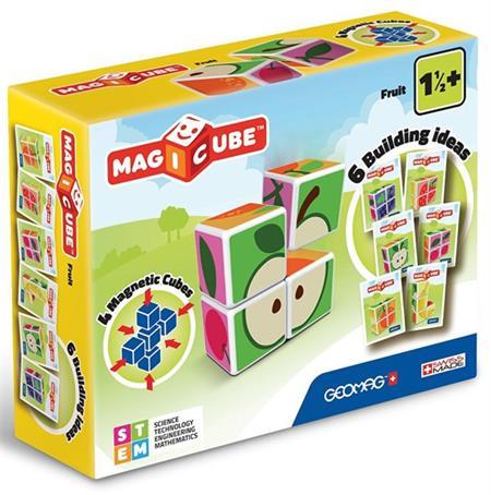 GEOMAG Magnetické kostky Magicube Ovoce; 120651