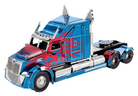 METAL EARTH 3D puzzle Transformers: Optimus Prime Western Star 5700 Truck (ICONX); 124461