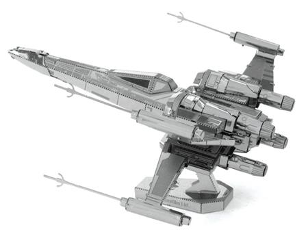 METAL EARTH 3D puzzle Star Wars: Poe Dameron's X-Wing Fighter; 117237