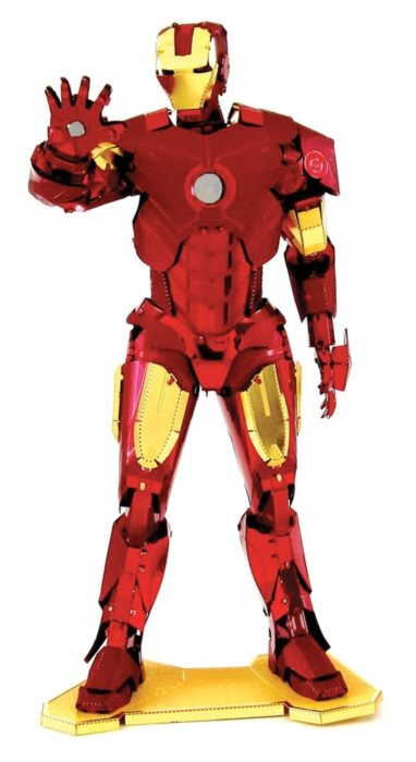METAL EARTH 3D puzzle Avengers: Iron Man; 117246