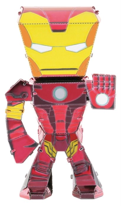 METAL EARTH 3D puzzle Avengers: Iron Man figurka; 120070