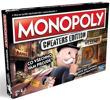 HASBRO Monopoly Cheaters edition CZ; 25225
