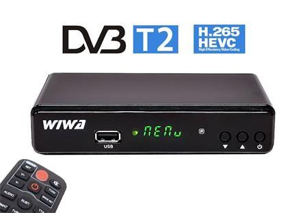 WIWA H.265 DVB-T2 set top box; ARM-WIWA