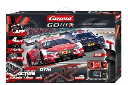 Autodráha Carrera GOPlus 66009 DTM Speed Record; GCGP1007