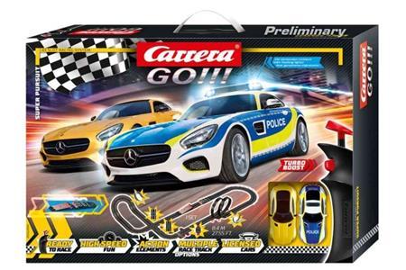 Autodráha Carrera GO 62494 Super Pursuit; GCG1233