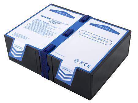 AVACOM náhrada za RBC123 - baterie pro UPS (2ks baterií); AVA-RBC123