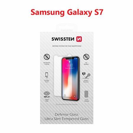Swissten OCHRANNÉ TEMPEROVANÉ SKLO SAMSUNG G930F GALAXY S7 RE 2,5D; 74511708