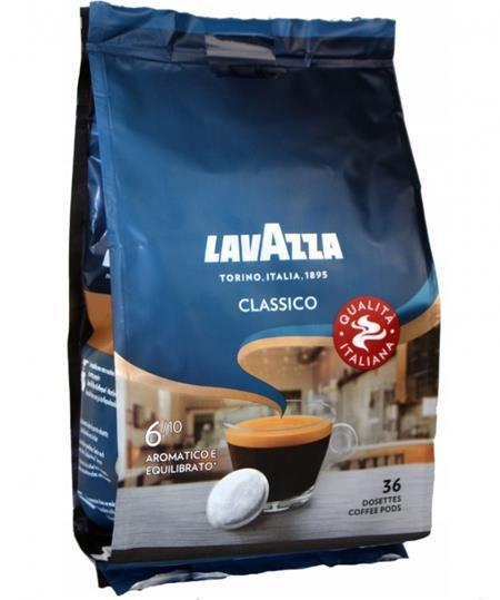 Lavazza Caffe Crema Classico - Senseo pody, 36 ks; KAVA