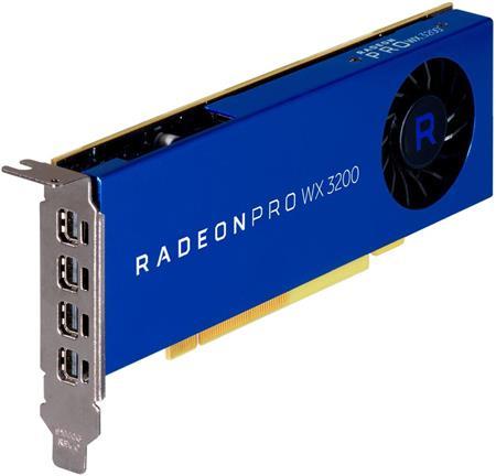 AMD Radeon Pro WX 3200 4GB; 6YT68AA