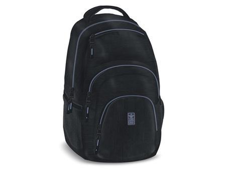 ARS UNA Školní batoh Autonomy AU2 černo-fialový; 131866
