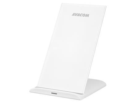 AVACOM HomeRAY T10 bezdrátová nabíječka stojánek, bílá; HomeRAY T10 White