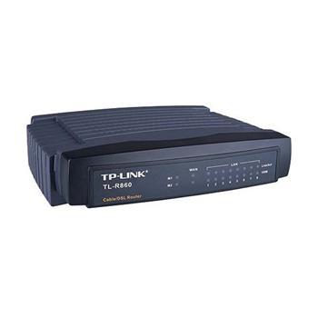 TP-Link TL-R860 kabelový/DSL router, 1 x WAN + 8 x 10/100Mbps, DHCP; TL-R860