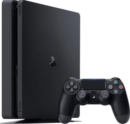 Sony Playstation 4 Slim 1TB Black (PS4) - white box; 9102989