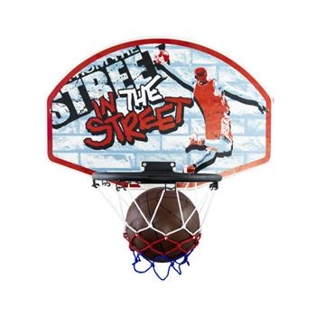 Hračka G21 Stěna s košem na basketbal; 20881R-1