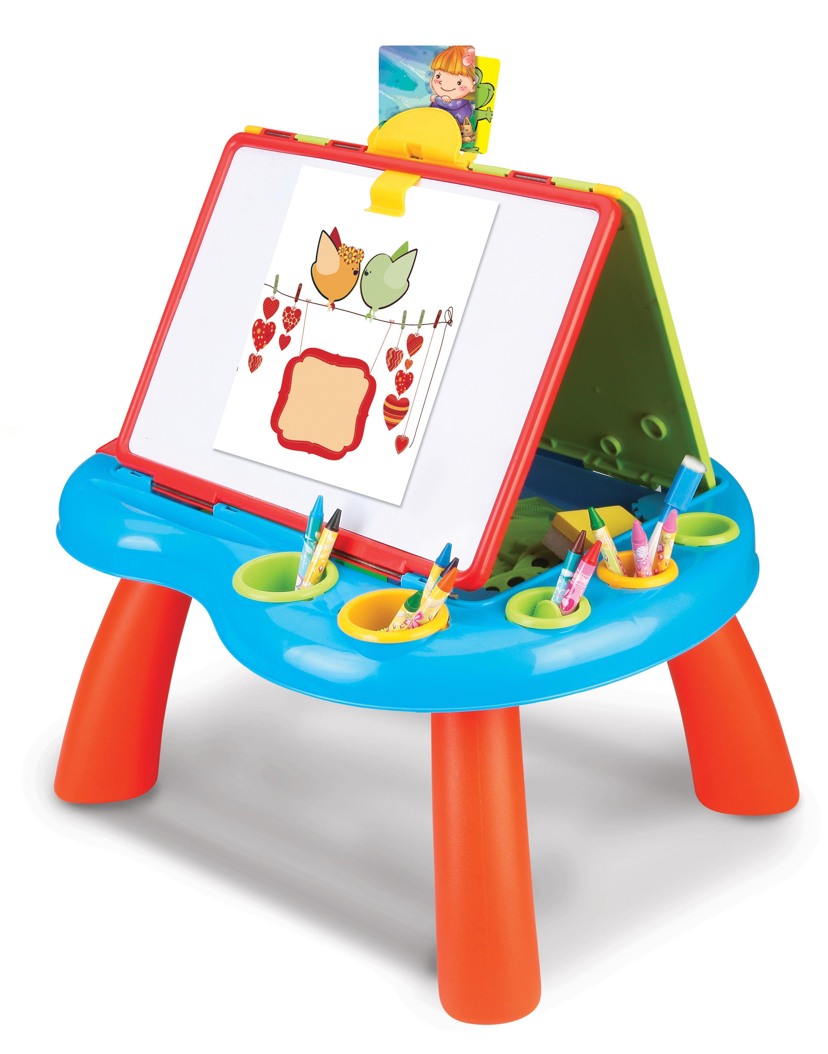 Hračka G21 Kreslicí tabulka na nožičkách oboustranná; 628-28