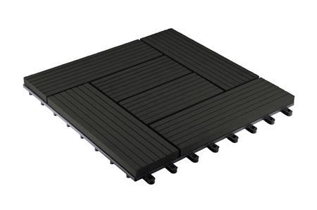 WPC dlaždice G21 Palmyra, Eben 2,3 x 30 x 30 cm; WDLP107