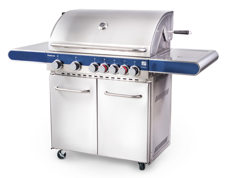 Plynový gril G21 Florida BBQ Premium line, 7 hořáků + zdarma redukční ventil; GAH-7RBSBlue