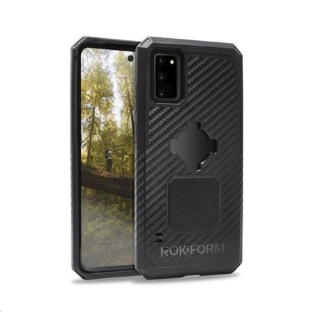 Rokform Kryt na mobil Rugged pro Samsung Galaxy S20 Plus, černý; 306401P