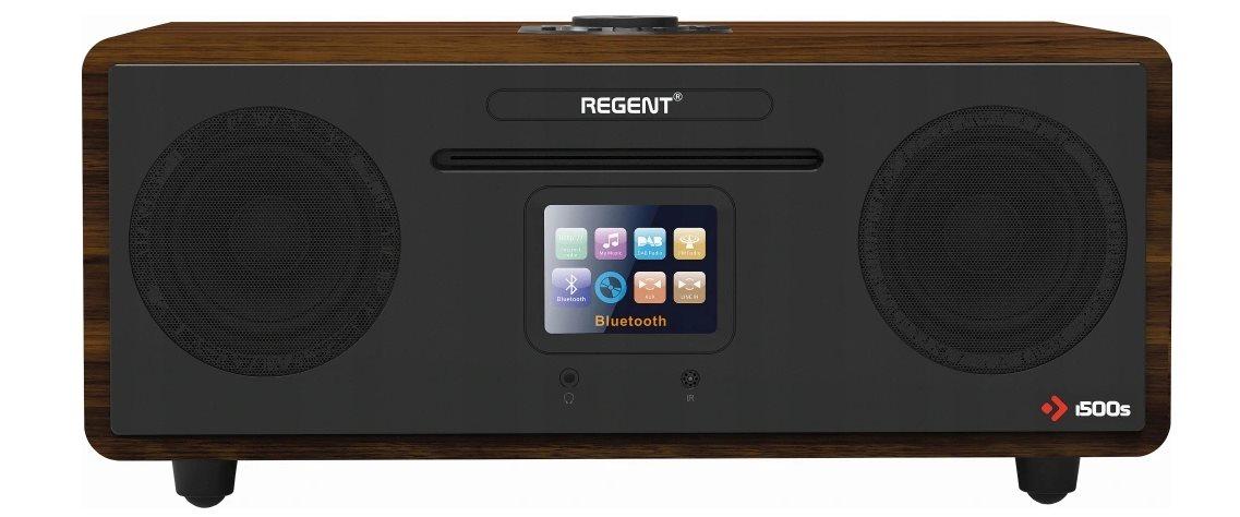 Rádio DAB+ FERGUSON i500 Black/dark wooden, DAB+, FM, Spotify, CD, WiFi, Bluetooth; SPR-FSM009BK