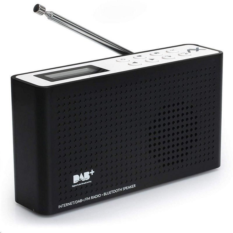 Rádio DAB+ AX SOUNDPATH LITE+ | 2 W | Internetové rádio | FM | Bluetooth | Černé; TONS - Opticum TON4