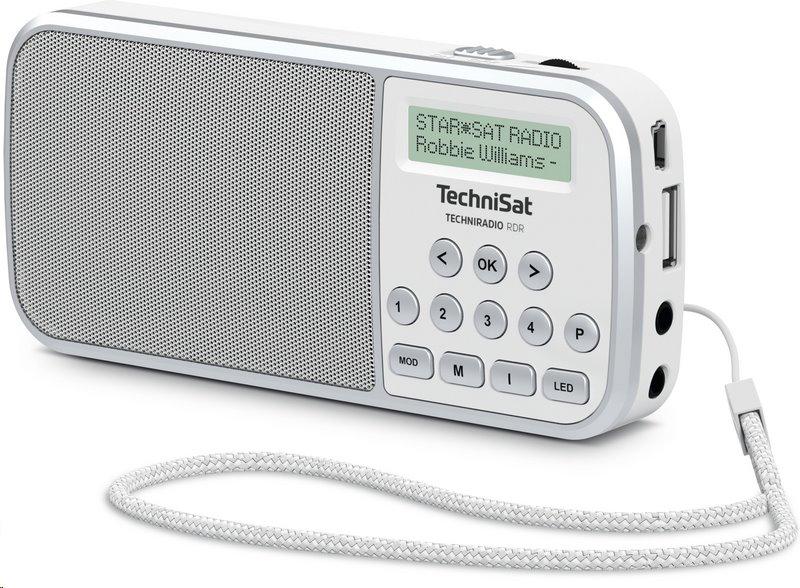TechniSat TECHNIRADIO RDR /bílé/; T00013922 - TechniSat RDR