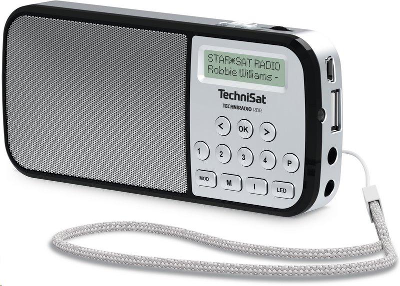 TechniSat TECHNIRADIO RDR /stříbrné/; T00023922 - TechniSat RDR