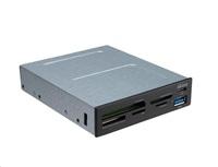 AKASA přední panel + multi čtečka paměťových karet, interní, USB 3.1; AK-ICR-33