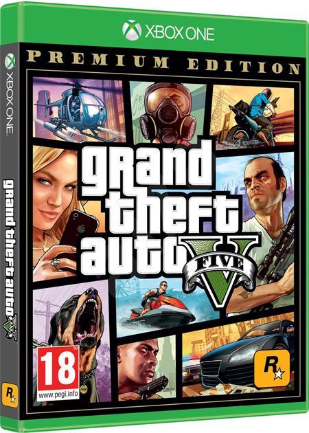 Grand Theft Auto V (GTA 5) Premium Online Edition (Xbox One); 9106316