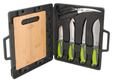 Cattara Grilovací nože sada 4+1+1; 13110
