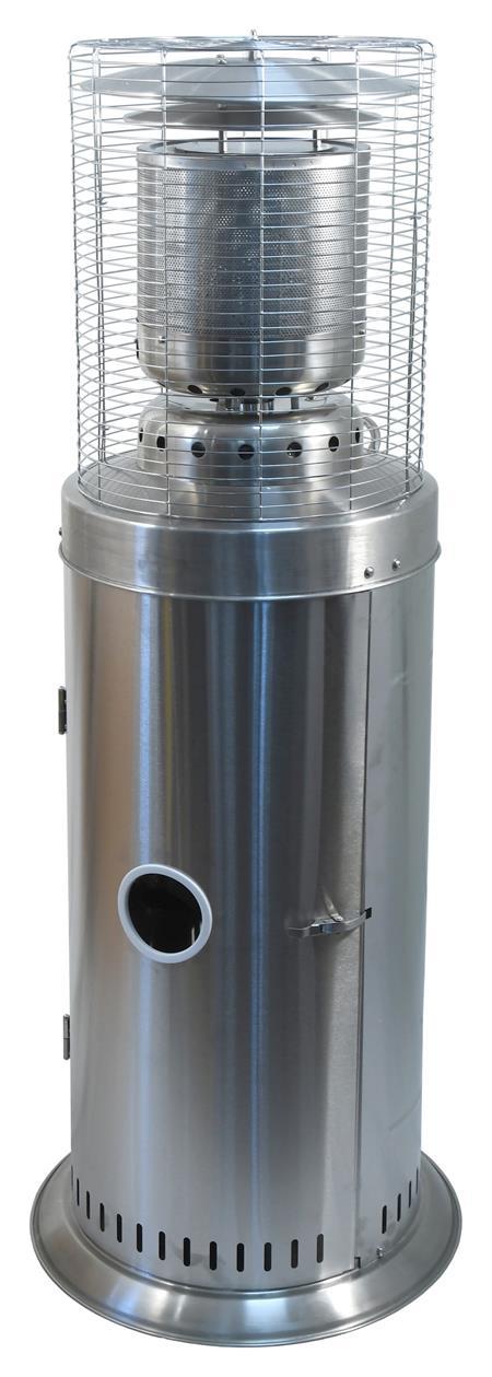 Cattara Plynový zářič SILVERINO 11kW 142cm s regulátorem; 13936