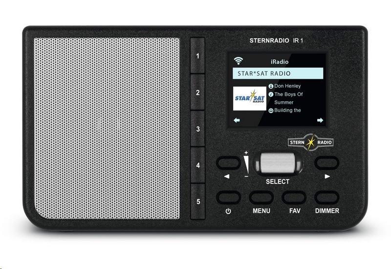 Rádio TechniSat STERNRADIO IR 1, černé; T0000/3960 - TechniSat IR1