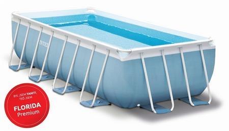 Marimex Bazén Florida Premium 2,00x4,00x1,00 m MODRÁ komplet + KF M1 ; 10340179