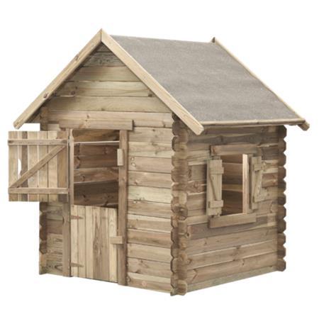 Marimex Domeček dětský dřevěný Western; 11640354