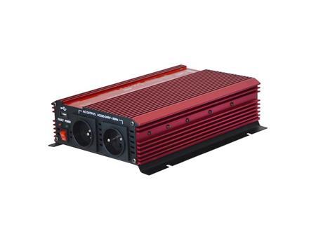 Geti Měnič napětí GPI 1612 12V/230V 1600W USB; 04230470