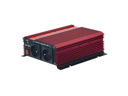 Geti Měnič napětí GPI 1012 12V/230V 1000W USB; 04230469