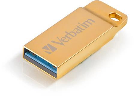 Verbatim 16GB USB Flash 3.0 METAL EXECUTIVE zlatý P-blist; 99104