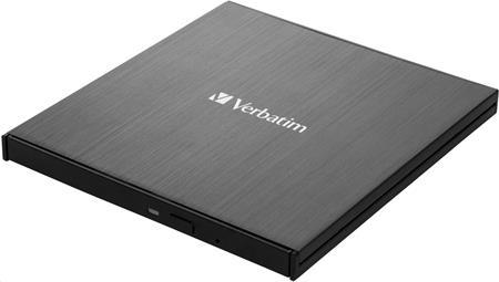 Verbatim Blu-ray externí Ultra HD 4K Slimline vypalovačka; 43888