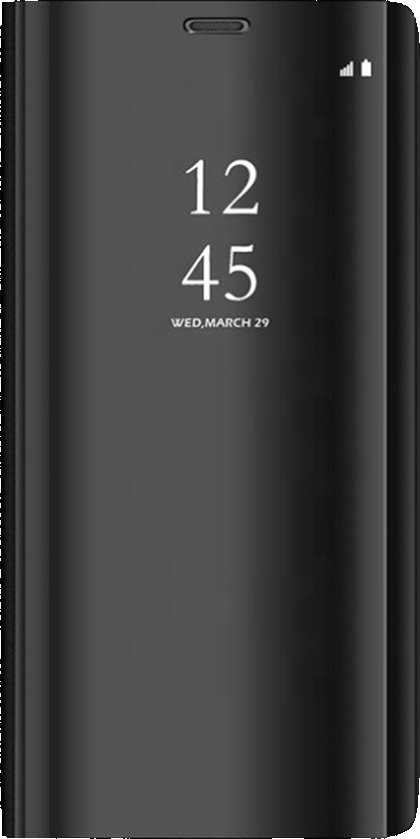 Cu-Be Clear View Samsung Galaxy A51 Black; 8595680421600