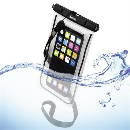 Hama Playa, outdoorové pouzdro na mobil, velikost XXL, černé; 177781