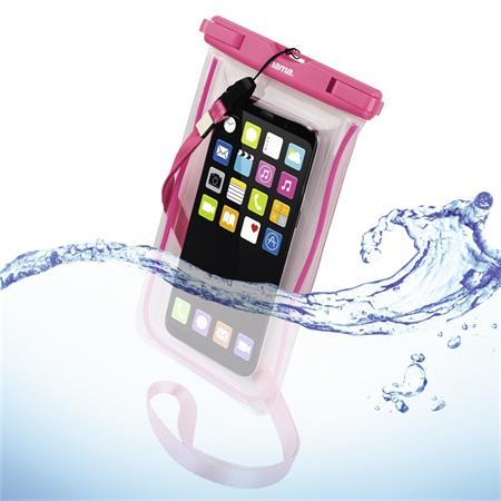 Hama Playa, outdoorové pouzdro na mobil, velikost XXL, růžové; 177782