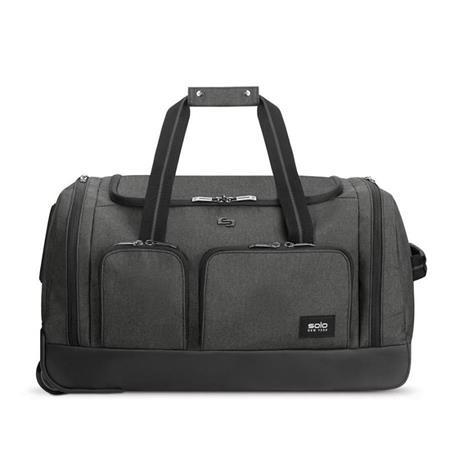 Solo NY Leroy cestovní taška na kolečkách, šedá; UBN980-10