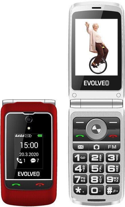 Evolveo EasyPhone FG; EP-750-FGR