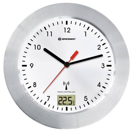 Bresser MyTime Bath Waterproof Wall Clock, white; 73786