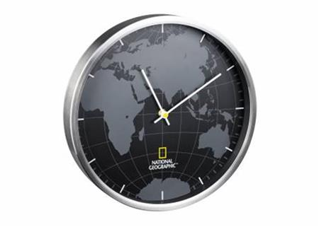 Bresser National Geographic Wall Clock 30cm; 73787