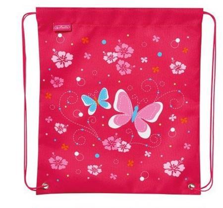 HERLITZ Vak na záda 39x33cm Motýl růžový; 24226