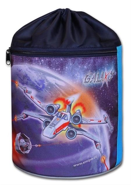 EMIPO Kulatý vak na záda 34x23cm Galaxy; 23888