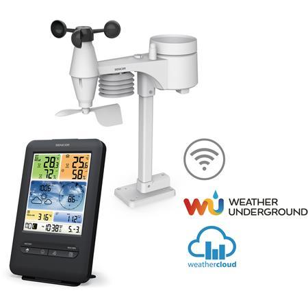 Sencor SWS 9898 WiFi meteorologická stanice s bezdrátovým snímačem 5v1; SWS 9898