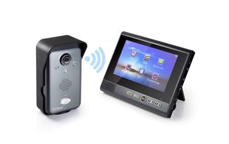 """Technaxx bezdrátový video zvonek s kamerou včetně LCD monitoru 7"""" (TX-59+); 4770"""